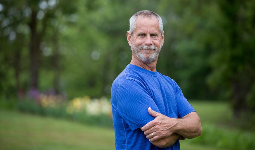 Jim, a Lapiplasty patient